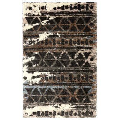 Mebane Charcoal Area Rug Rug Size: Rectangle 5 x 8