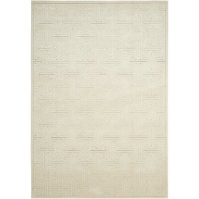 Manske Ivory Area Rug Rug Size: Rectangle 79 x 1010