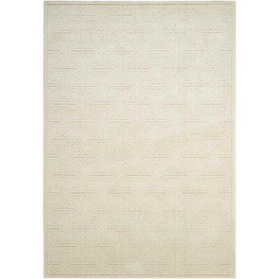 Manske Ivory Area Rug Rug Size: 79 x 1010