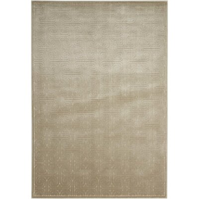 Manske Light Gray Area Rug Rug Size: Rectangle 53 x 75