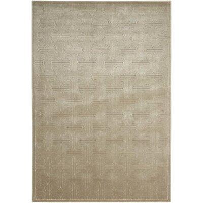 Manske Light Gray Area Rug Rug Size: 53 x 75