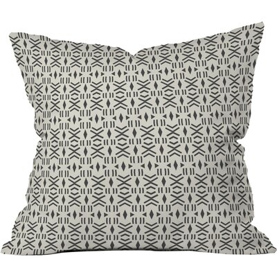 Balzer Geo Mudcloth Outdoor Throw Pillow Size: 16 H x 16 W x 4 D