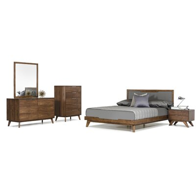 Mcswain Platform 5 Piece Bedroom Set Size: Queen