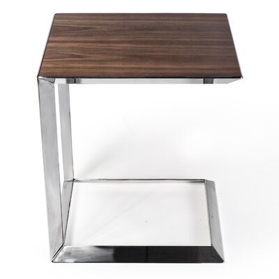 Maranto End Table Color: Walnut