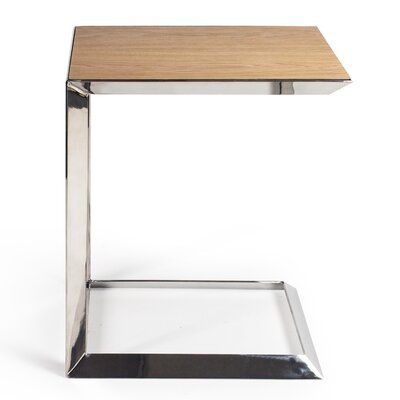 Maranto End Table Color: White Oak