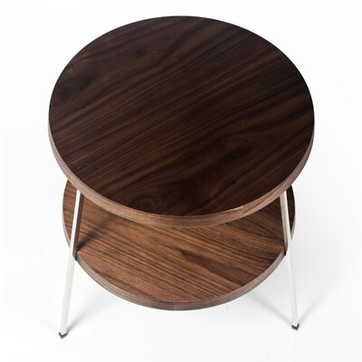Marasco End Table Color: Walnut