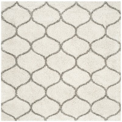 Marco Ivory/Gray Area Rug Rug Size: Square 9