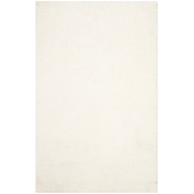 Sadler Hand-Tufted Ivory Area Rug Rug Size: Rectangle 5 x 8