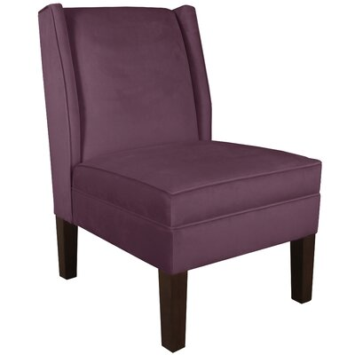 Wingback Chair Upholstery: Premier Purple