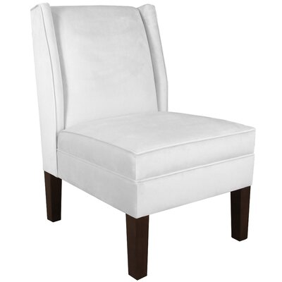 Wingback Chair Upholstery: Premier White