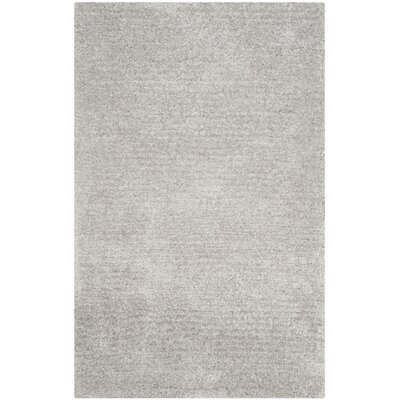 Sadler Gray Shag Area Rug Rug Size: Rectangle 5 x 8