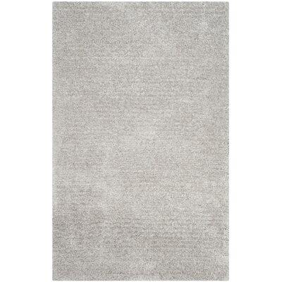 Sadler Gray Shag Area Rug Rug Size: 5 x 8