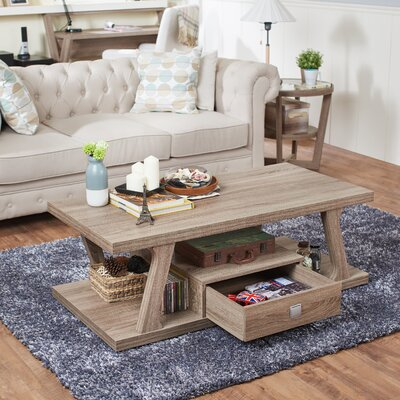 Templeville Coffee Table Finish: Light Oak