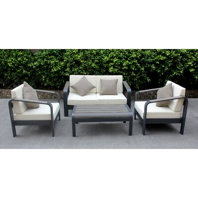 Moxley 4 Piece Deep Seating Group