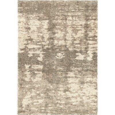 Mulkey Gray/Ivory Area Rug Rug Size: 710 x 1010