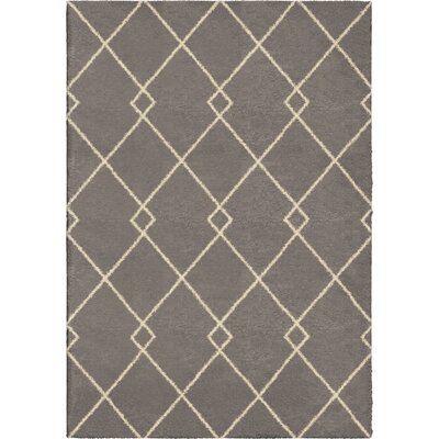 Mulloy Taupe/Ivory Area Rug Rug Size: 53 x 76