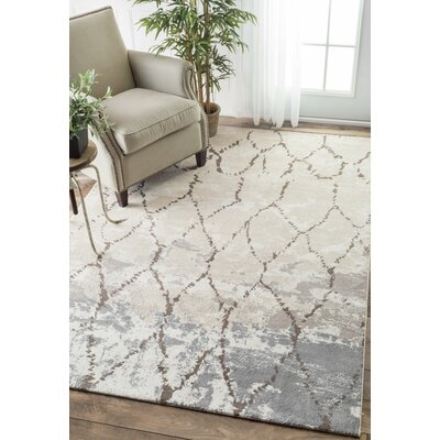 Alchiba Beige Area Rug Rug Size: Rectangle 86 x 116