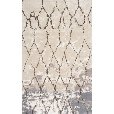 Alchiba Beige Area Rug Rug Size: 86 x 116