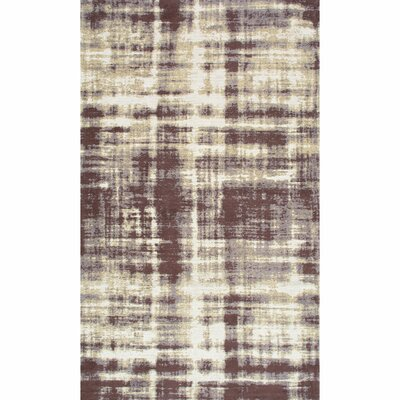 Alderamin Taupe Area Rug Rug Size: Rectangle 76 x 96