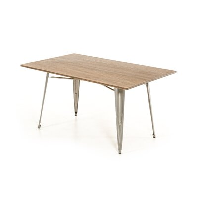 Lipscomb Dining Table Base Finish: Steel