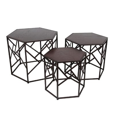 Volkonskaya 3 Piece Nesting Tables