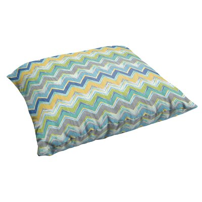 Murdoch Corded Indoor/Outdoor Floor Pillow Color: Pacific