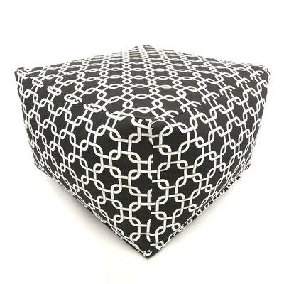 Danko Bean Bag Ottoman Upholstery: Black