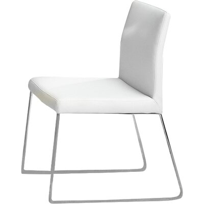 Riel Side Chair (Set of 2) Upholstery: White