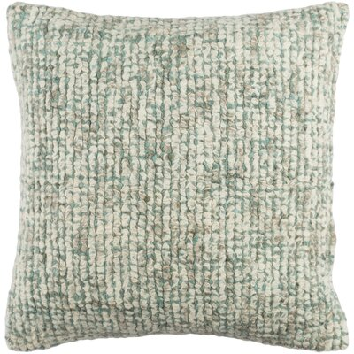 Agathon Wool Throw Pillow Color: Cream/Mint/Taupe