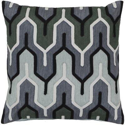 Alamak Modern Throw Pillow Color: Gray
