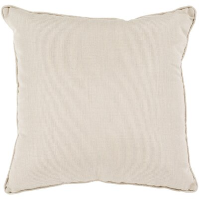 Allen Park Outdoor Throw Pillow Size: 16 H x 16 W x 4 D, Color: Neutral