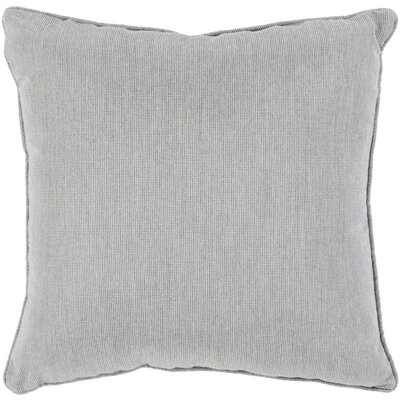 Allen Park Outdoor Throw Pillow Size: 16 H x 16 W x 4 D, Color: Light Gray