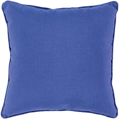 Allen Park Outdoor Throw Pillow Size: 16 H x 16 W x 4 D, Color: Cobalt