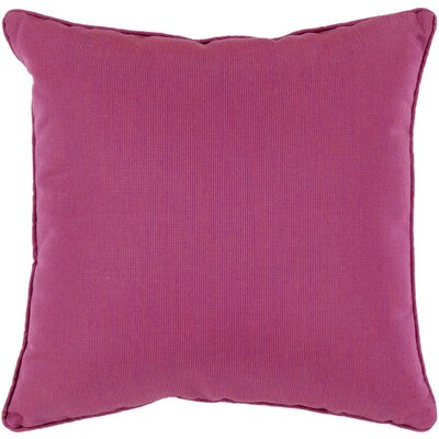 Allen Park Outdoor Throw Pillow Size: 16 H x 16 W x 4 D, Color: Magenta