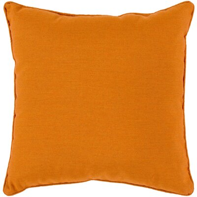 Allen Park Outdoor Throw Pillow Size: 16 H x 16 W x 4 D, Color: Burnt Orange