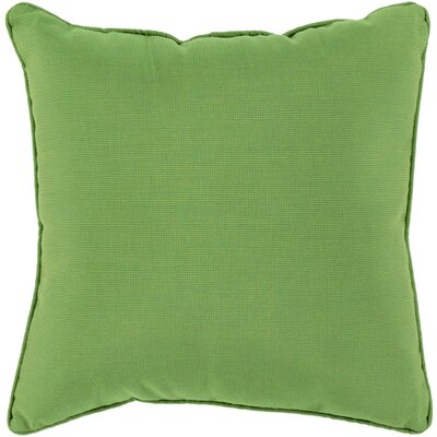 Allen Park Outdoor Throw Pillow Size: 16 H x 16 W x 4 D, Color: Forest