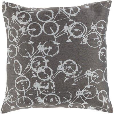 Alpha Throw Pillow Color: Gray/Neutral