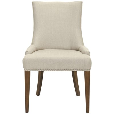 Alpha Centauri Upholstered Dining Chair Finish: Dark Brown