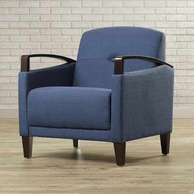 Fabiano Arm Chair Upholstery: Woven Indigo
