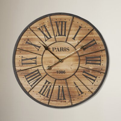 24 Paris Wall Clock