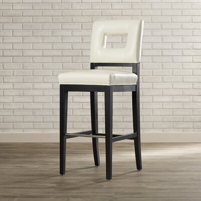 Marcantel 30 Bar Stool Upholstery: Cream