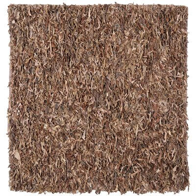 Eveland Brown Area Rug Rug Size: Square 8