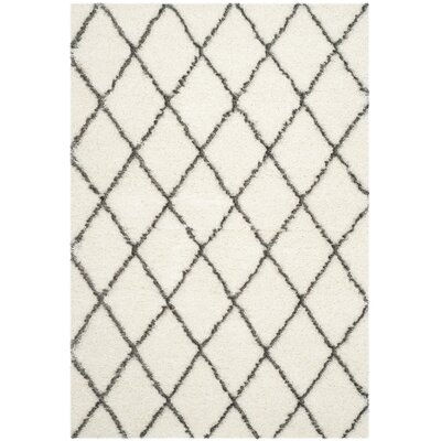 Sewell Moroccan Ivory Area Rug Rug Size: Rectangle 6 x 9