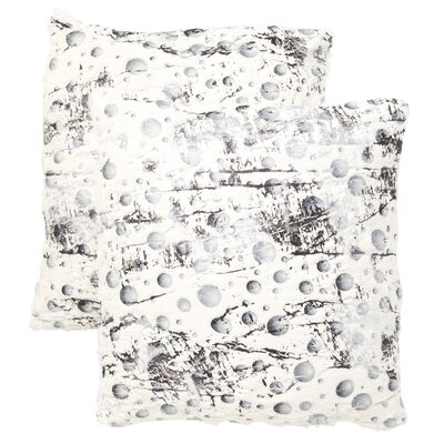 Arienne Frost Throw Pillow Size: 20 H x 20W