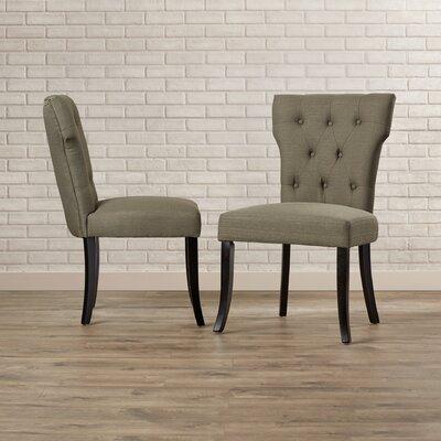 Vangilder Parsons Chair Upholstery: Basil Green