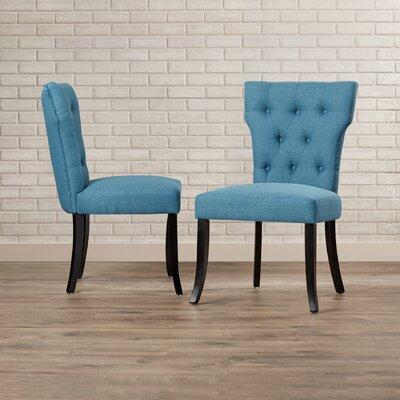 Vangilder Parsons Chair Upholstery: Blue
