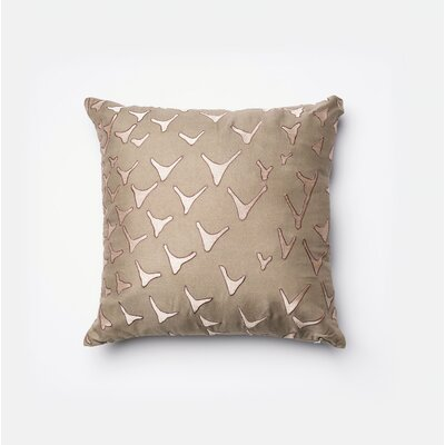 Linville Throw Pillow Color: Brown