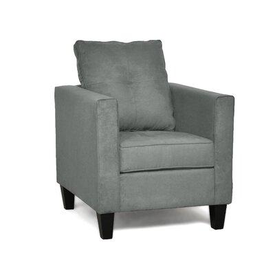 Antlia Armchair Upholstery: Bulldozer Graphite