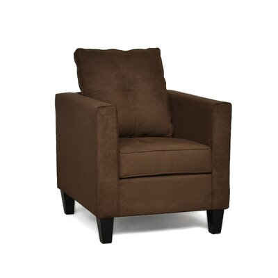 Antlia Armchair Upholstery: Bulldozer Java