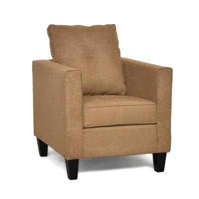 Antlia Arm Chair Upholstery Color: Bulldozer Mocha